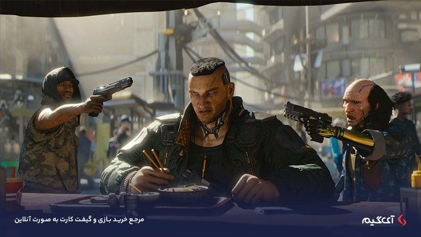 نقش منفی بازی Cyberpunk 2077