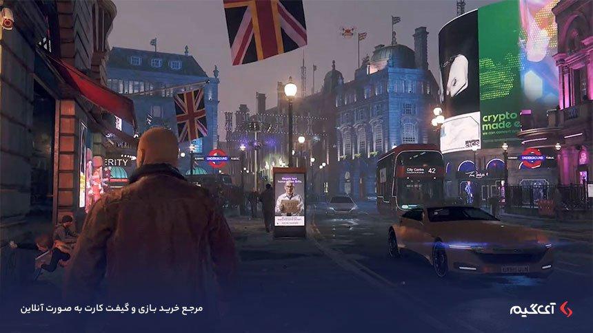 نمایی از شهر لندن در بازی واچ داگز لژیون