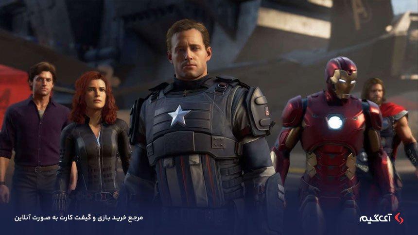 قهرمانان اصلی تیم انتقام جویان