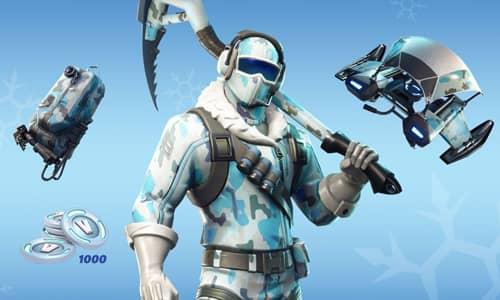 خرید پک Fortnite – Deep Freeze Bundle