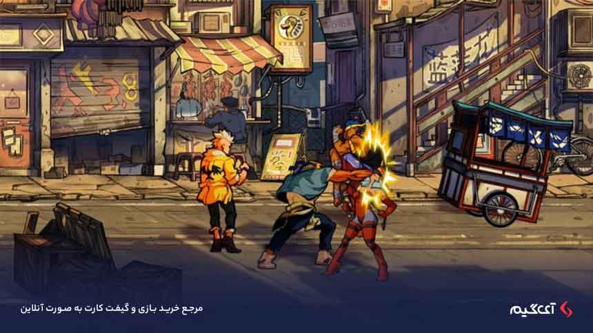 داستان بازی Streets of Rage 4