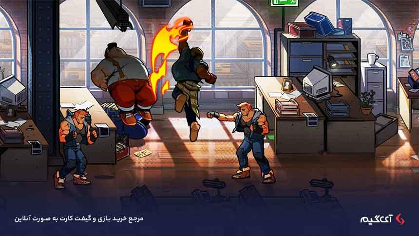 گیم پلی بازی شورش در شهر 4