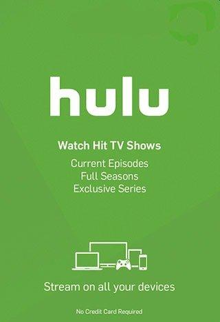 خرید گیفت کارت Hulu