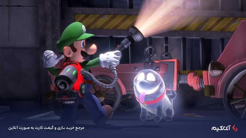 بازی ماجراجویانه Luigi's Mansion 3